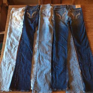 4 Hollister Jeans